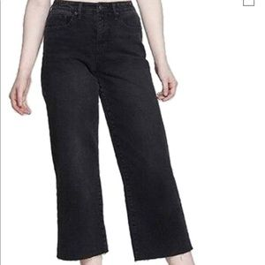 Wild Fable High-Rise Wide Leg Cropped Skater